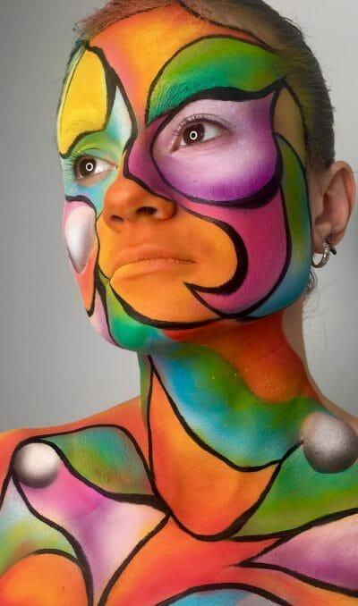 mua--ele_samarina-face-art-v-smeshannoy-tehnike-akvakolor-kist-i-air-brush-produktyi-nebula-dlya-aerografa
